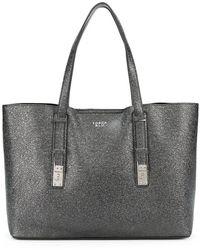 Tosca Blu - Creased Large Tote Bag - Lyst