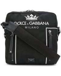 c4cce652e9 Men's Dolce & Gabbana Messenger Online Sale - Lyst