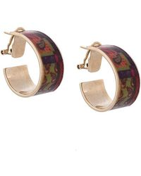 Etro - Decorative Plated Earring - Lyst