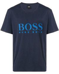 BOSS - Brand Logo T-shirt - Lyst