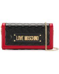 Love Moschino - Foldover Logo Wallet - Lyst