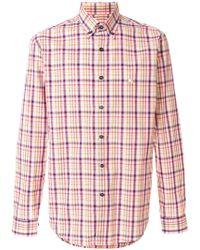 Etro - Checked Button-down Shirt - Lyst