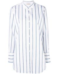 By Malene Birger - Camisa a rayas con botones - Lyst