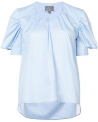 Roberta Furlanetto - Double Cuff Blouse - Lyst