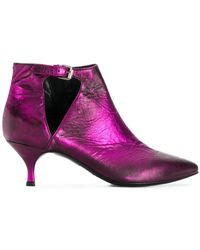 Strategia - Pointed Toe Booties - Lyst