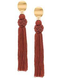 Lizzie Fortunato - Sienna Luxe Tassel Earrings - Lyst