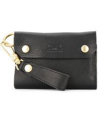 AS2OV - Oiled Shrink Short Wallet - Lyst