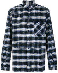 Tomorrowland - Bradford Plaid Shirt - Lyst
