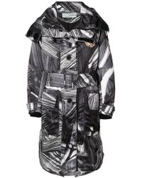Off-White c/o Virgil Abloh - Printed Trench - Lyst
