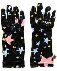 Boutique Moschino - Star Gloves - Lyst