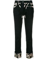 Prada - Hibiscus Printed Jeans - Lyst