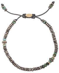 M. Cohen - Verstellbares Perlenarmband - Lyst
