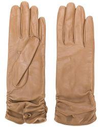 Gala - Ruched Cuff Gloves - Lyst