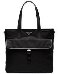 Prada - Two Pocket Tote Bag - Lyst