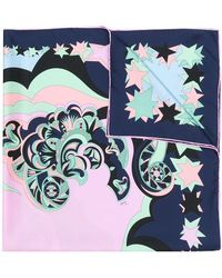 Emilio Pucci - Stars Print Scarf - Lyst