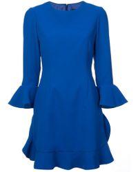 JILL Jill Stuart - Flared Cuff Mini Dress - Lyst