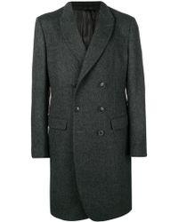 Giorgio Armani - Double-breasted Coat - Lyst