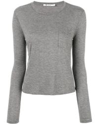 T By Alexander Wang - Classic Round Neck T-shirt - Lyst
