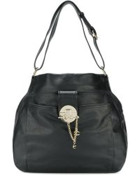 Just Cavalli | Chain Clasp Hobo Tote | Lyst
