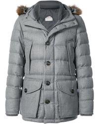 Moncler Fur Trim Rethel Jacket