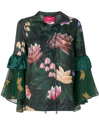 F.R.S For Restless Sleepers - Floral Print Blouse - Lyst