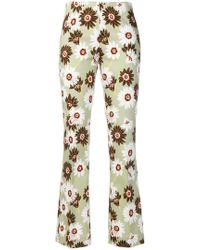 MeMe London - Floral Print Trousers - Lyst