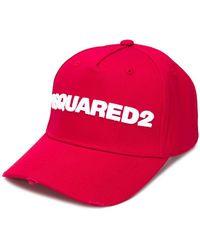 8d5ad9eb2dfe0e DSquared² Logo Patch Baseball Cap in Purple for Men - Lyst