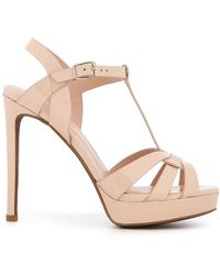 Lola Cruz - High Ankle Sandals - Lyst