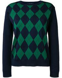 Sofie D'Hoore - Morgan Argyle Intarsia Sweater - Lyst
