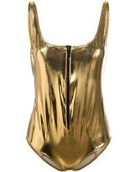 Lisa Marie Fernandez - Badeanzug mit Reißverschluss - Lyst