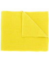 N.Peal Cashmere - Ribbed knitted scarf - Lyst