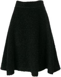 Miu Miu - Flared Skirt - Lyst