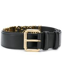 Moschino - Reversible Belt - Lyst