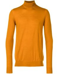 Paolo Pecora - Turtle-neck Fitted Jumper - Lyst