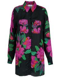 Amir Slama - Roses Print Shirt - Lyst