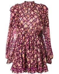 Ulla Johnson - Vienne Printed Dress - Lyst