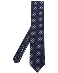 Etro | Embroidered Polka-dot Tie | Lyst