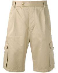 Moncler Gamme Bleu - Classic Cargo Shorts - Lyst