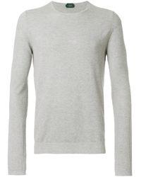 Zanone - Long Sleeved Sweatshirt - Lyst