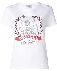 Pringle of Scotland - Logo Print T-shirt - Lyst