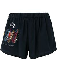 Mira Mikati - Go With The Waves Shorts - Lyst