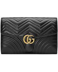 Gucci - Borsa Clutch 'gg Marmont' - Lyst