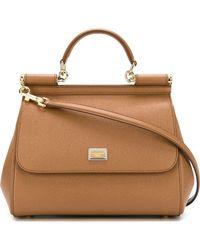 c439214f8ebd Lyst - Dolce   Gabbana Sicily Bags - Dolce   Gabbana Sicily Bags