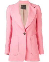Erika Cavallini Semi Couture - Single Breasted Blazer - Lyst