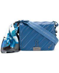 Off-White c/o Virgil Abloh - Quilted Flap Shoulder Bag - Lyst
