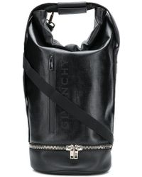 e147175f6a9 Givenchy - Jaw Convertible Leather-trimmed Coated-canvas Tote Bag - Lyst