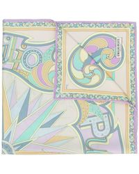 Emilio Pucci - Abstract Print Scarf - Lyst