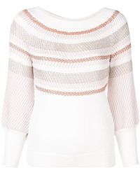 Peter Pilotto - Striped Knitted Jumper - Lyst
