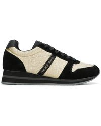 Versace Jeans - Glitter Panelled Trainers - Lyst