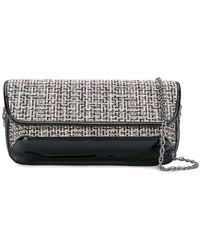 Rodo - Embroidered Clutch Bag - Lyst